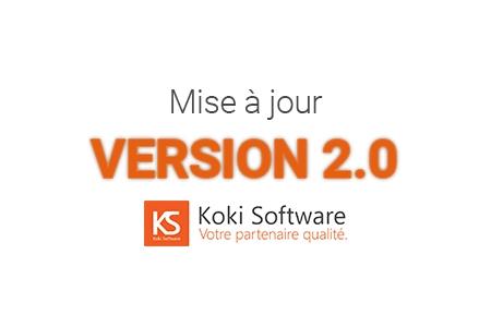 Koki Software passe en version 2.0