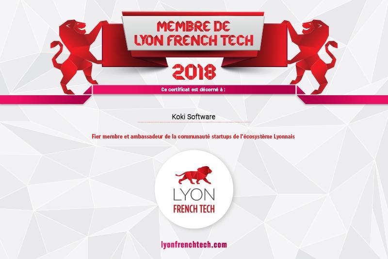 Koki software fait officiellement partie de la French Tech