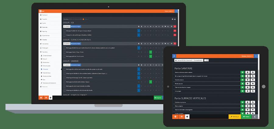 Plan de qualité Koki Software Solution traçabilité du nettoyage